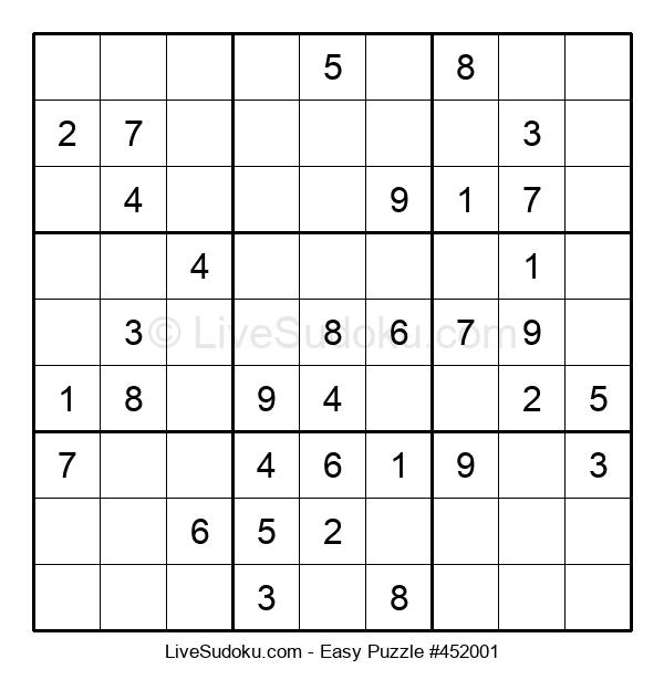 Beginners Puzzle #452001