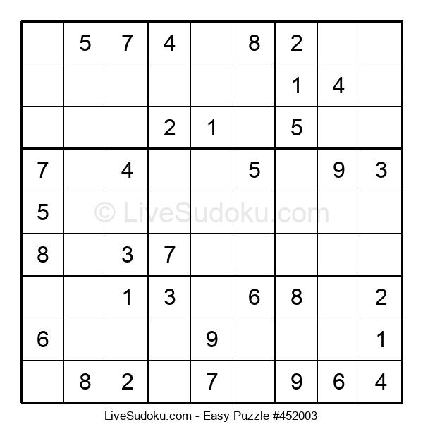 Beginners Puzzle #452003