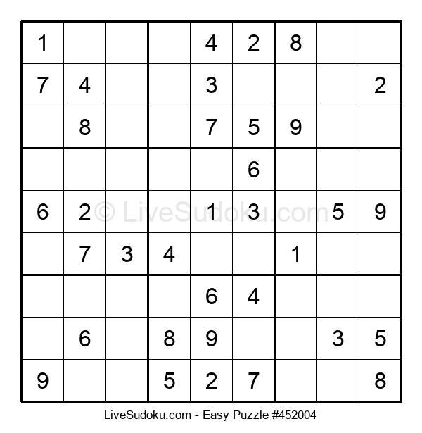 Beginners Puzzle #452004