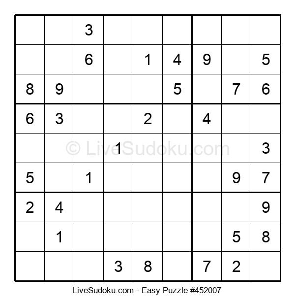 Beginners Puzzle #452007