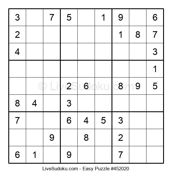 Beginners Puzzle #452020