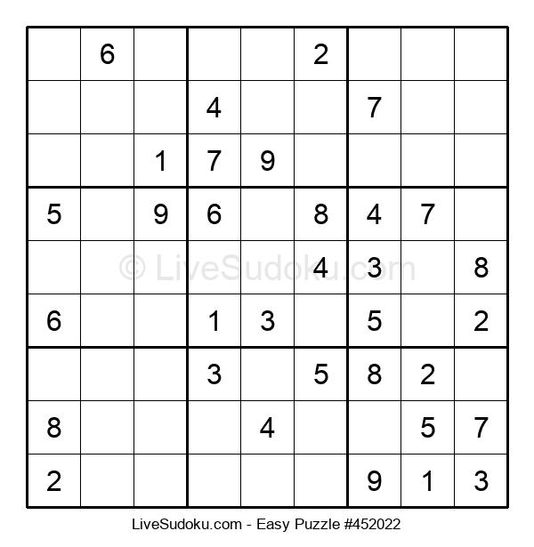 Beginners Puzzle #452022