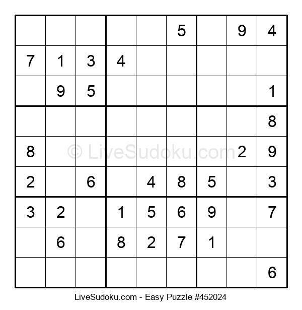 Beginners Puzzle #452024