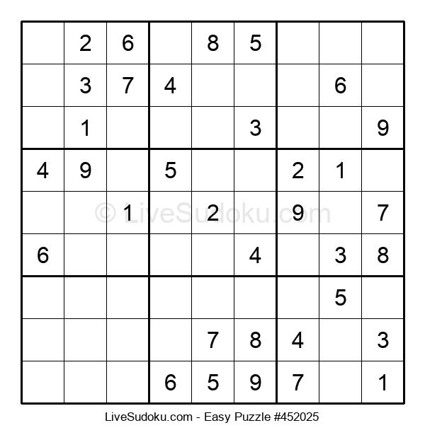 Beginners Puzzle #452025