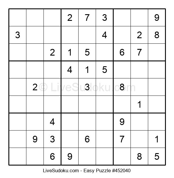 Beginners Puzzle #452040