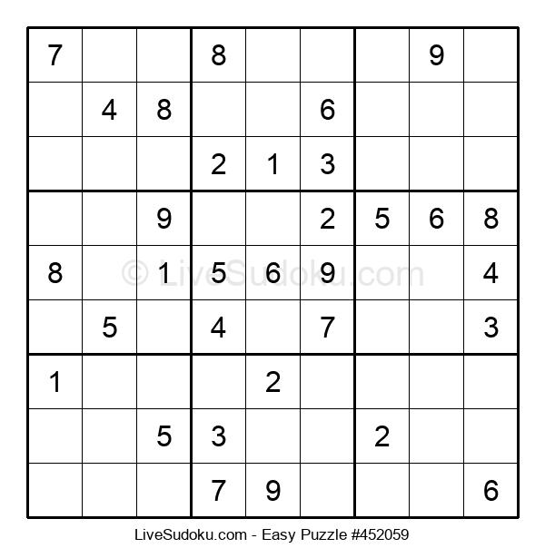 Beginners Puzzle #452059