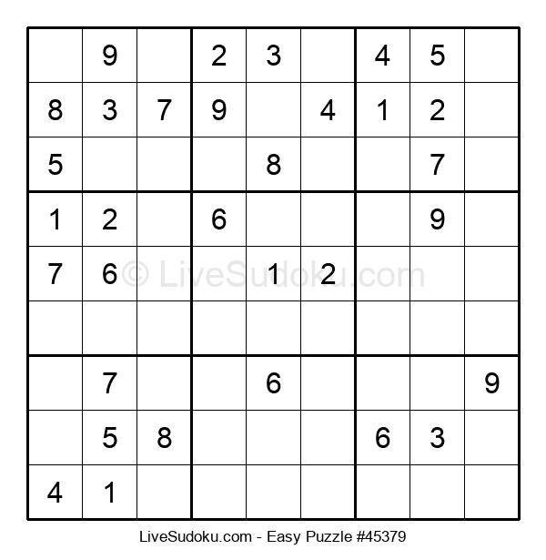 Beginners Puzzle #45379