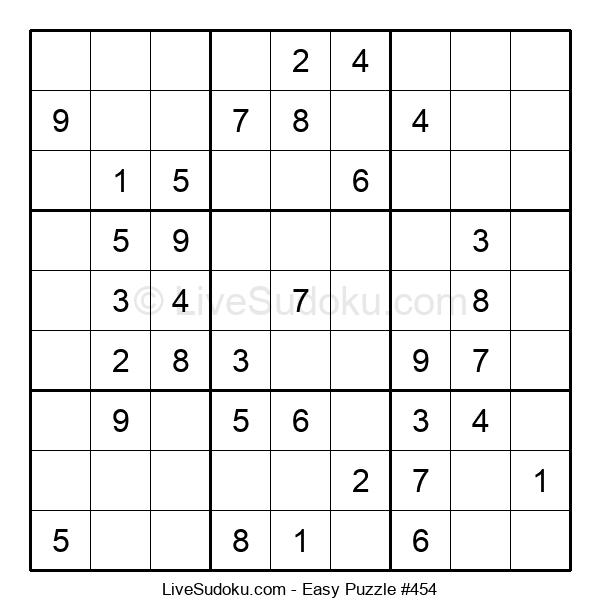 Beginners Puzzle #454