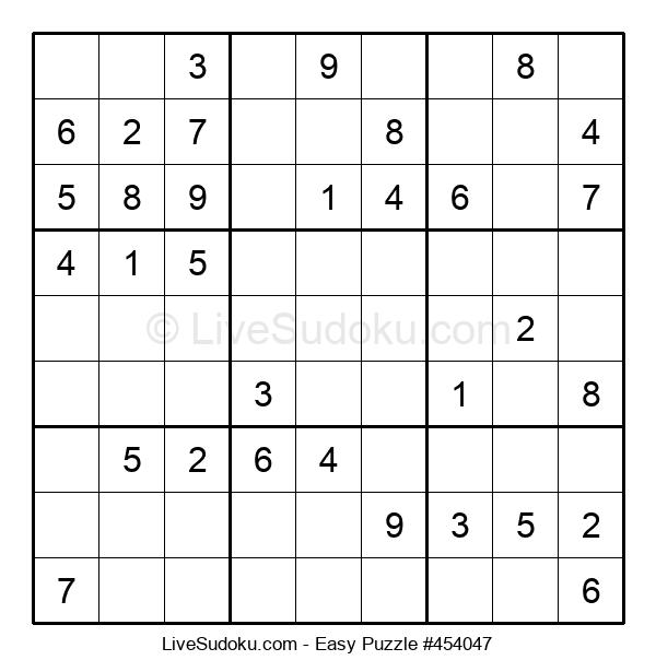Beginners Puzzle #454047