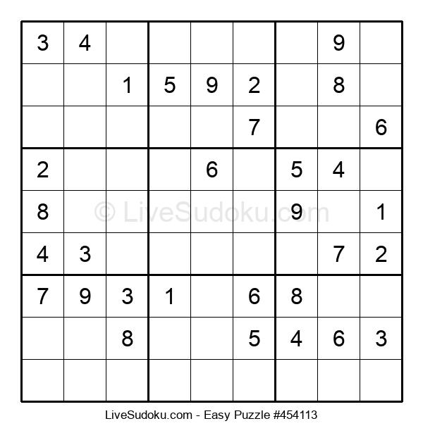Beginners Puzzle #454113