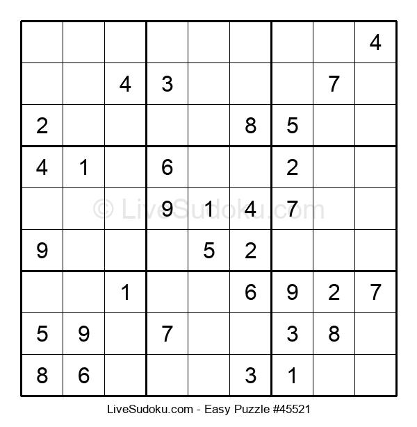 Beginners Puzzle #45521