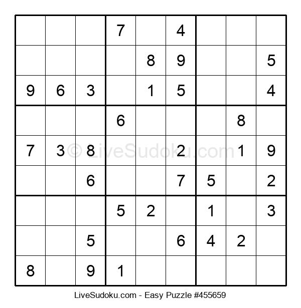 Beginners Puzzle #455659