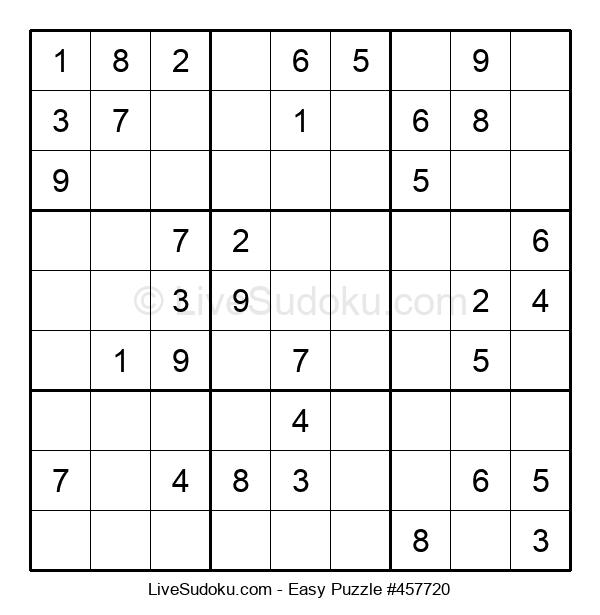 Beginners Puzzle #457720