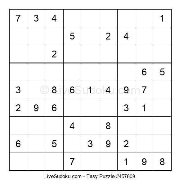 Beginners Puzzle #457809