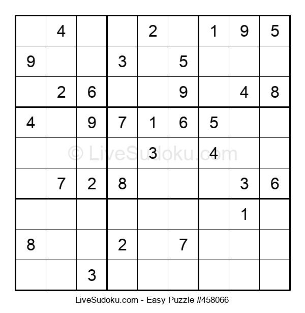 Beginners Puzzle #458066