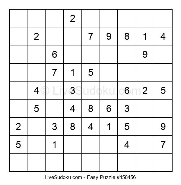 Beginners Puzzle #458456