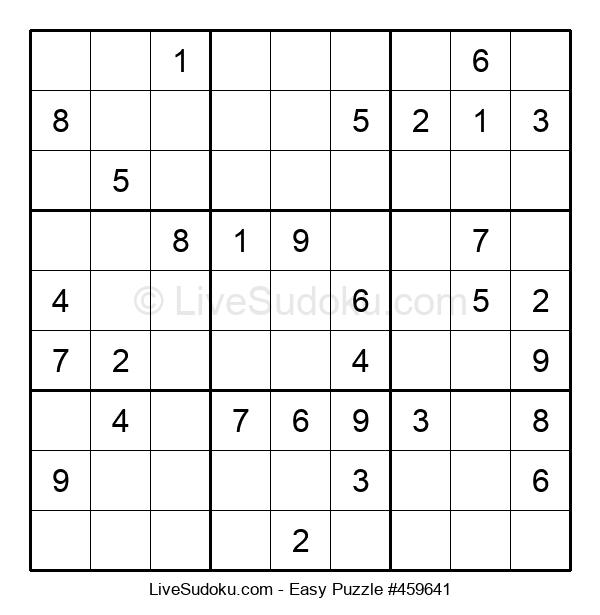 Beginners Puzzle #459641