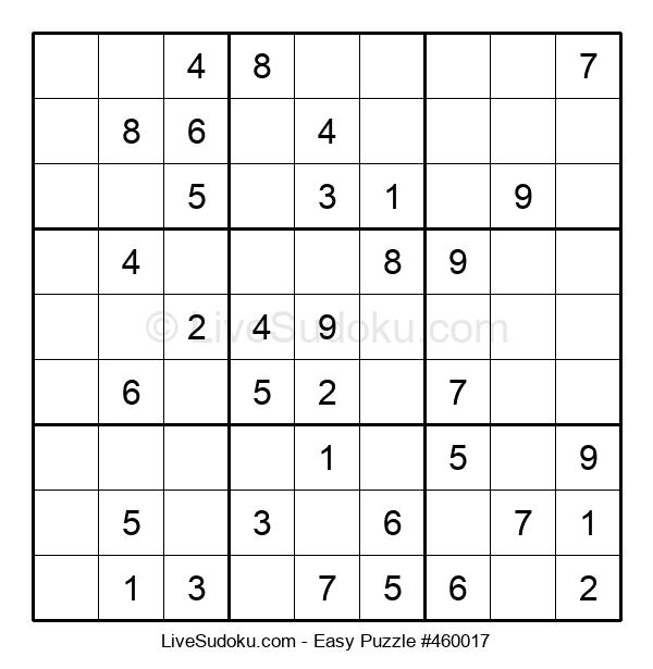 Beginners Puzzle #460017