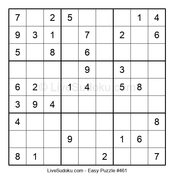 Beginners Puzzle #461