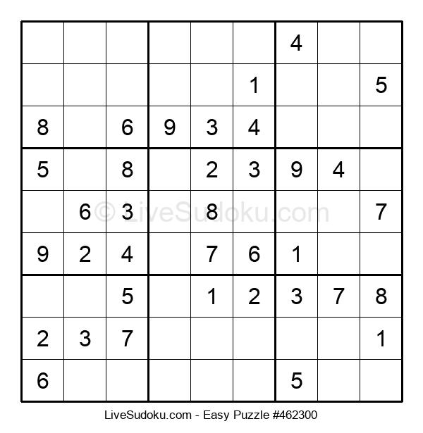 Beginners Puzzle #462300