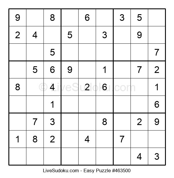Beginners Puzzle #463500