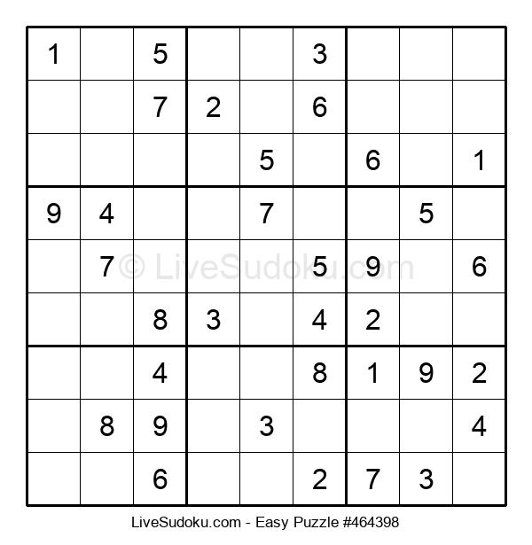 Beginners Puzzle #464398
