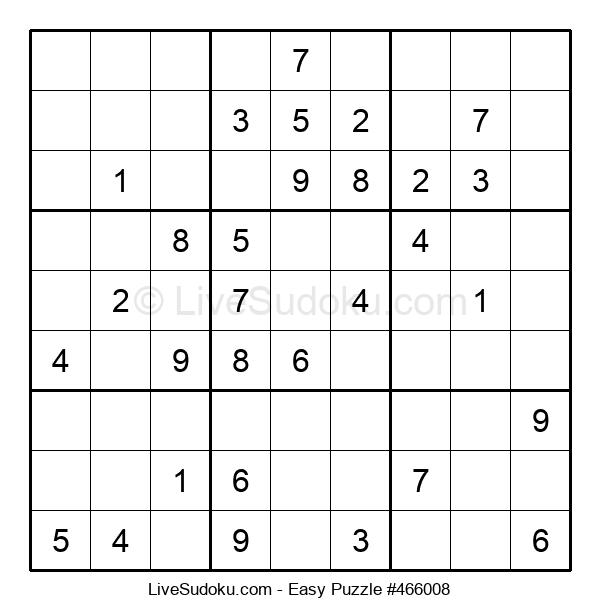 Beginners Puzzle #466008