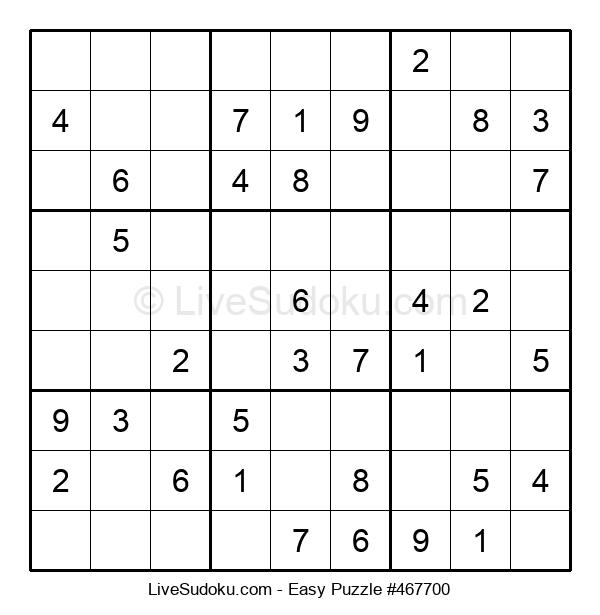 Beginners Puzzle #467700