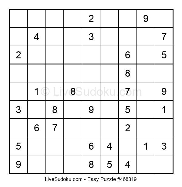 Beginners Puzzle #468319