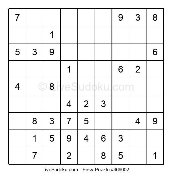 Beginners Puzzle #469002