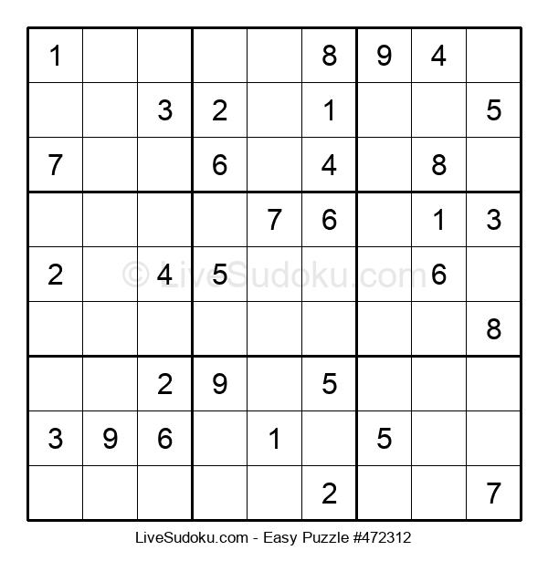Beginners Puzzle #472312