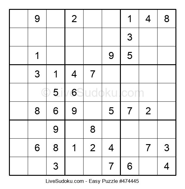 Beginners Puzzle #474445
