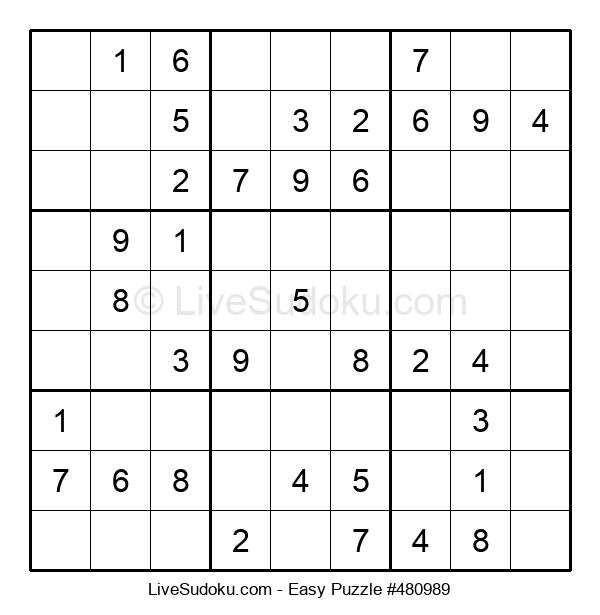 Beginners Puzzle #480989