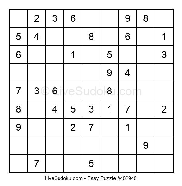 Beginners Puzzle #482948