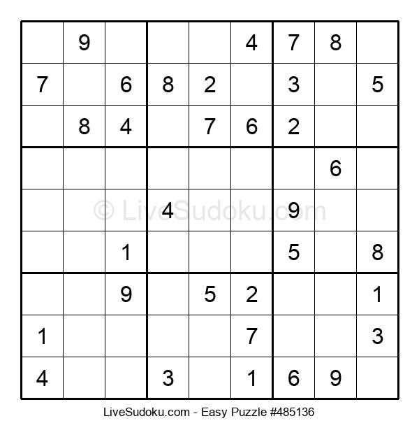 Beginners Puzzle #485136