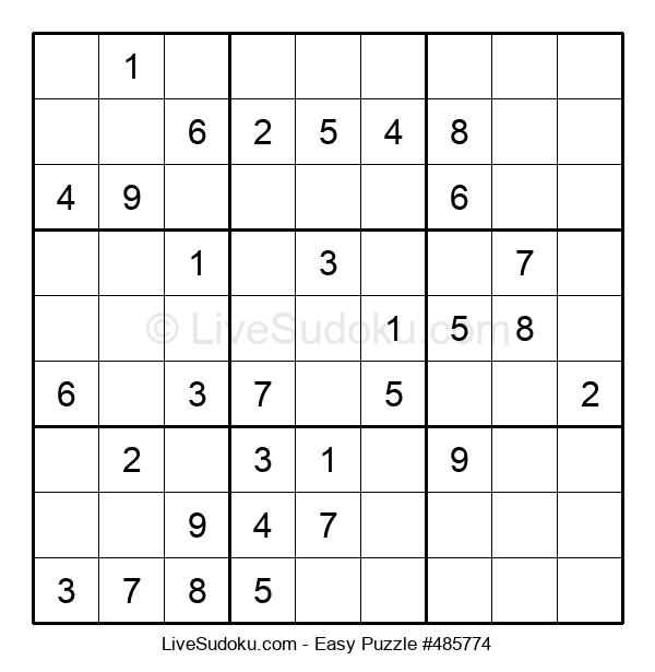 Beginners Puzzle #485774