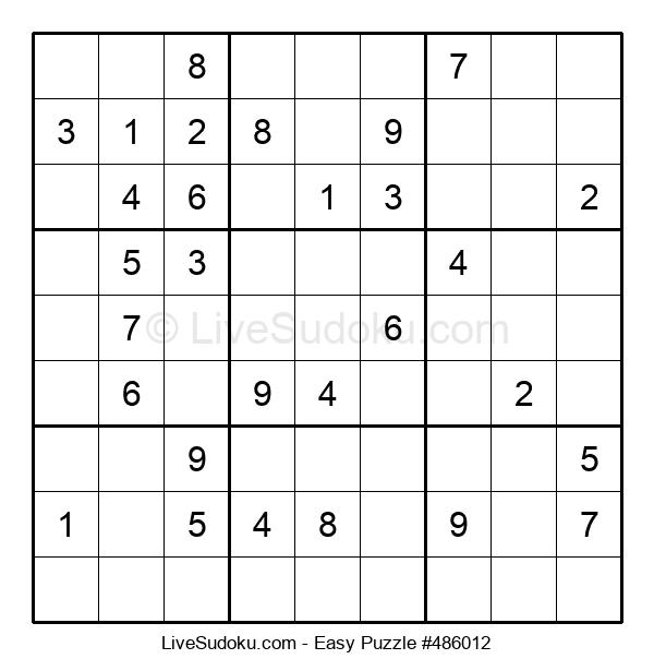 Beginners Puzzle #486012