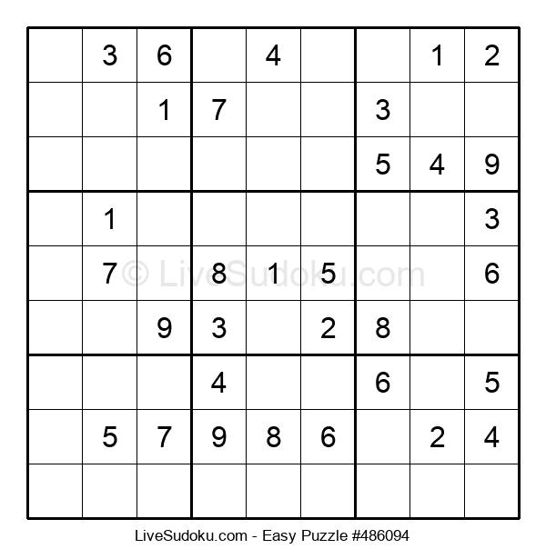 Beginners Puzzle #486094