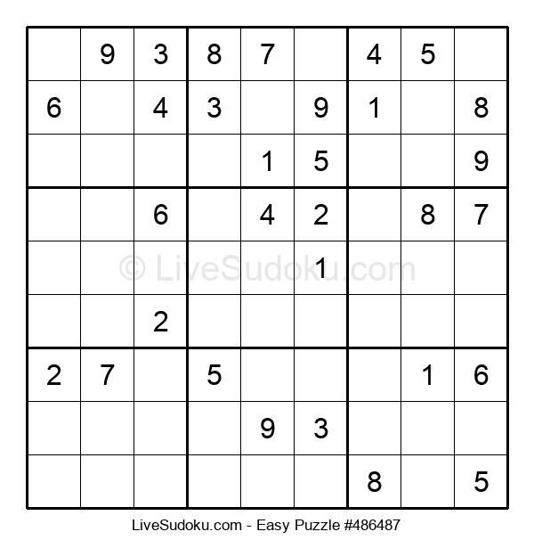 Beginners Puzzle #486487