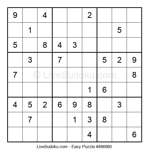 Beginners Puzzle #486980