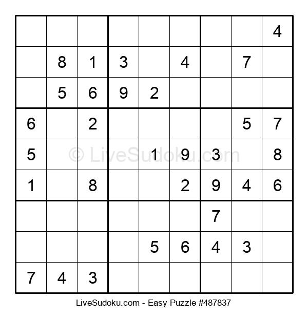 Beginners Puzzle #487837