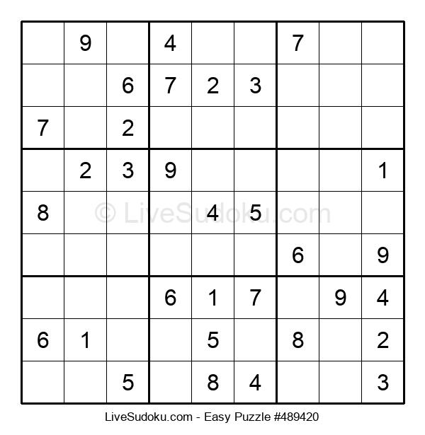 Beginners Puzzle #489420