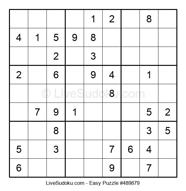 Beginners Puzzle #489879