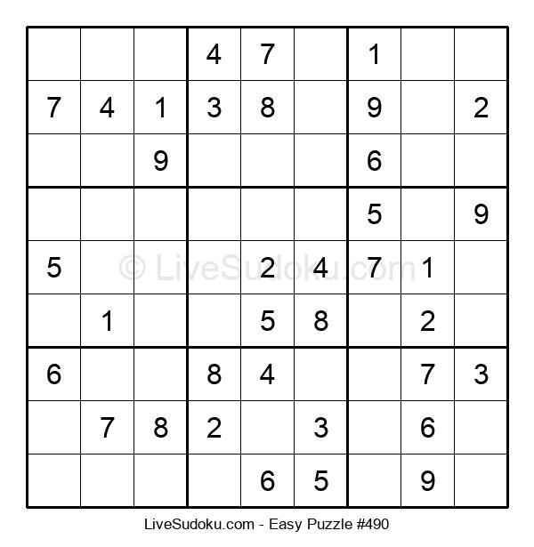 Beginners Puzzle #490