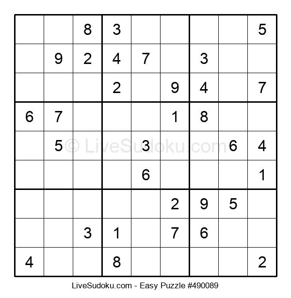 Beginners Puzzle #490089
