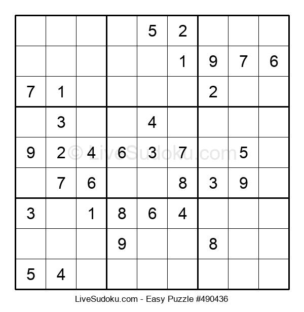 Beginners Puzzle #490436