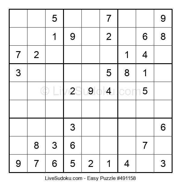 Beginners Puzzle #491158