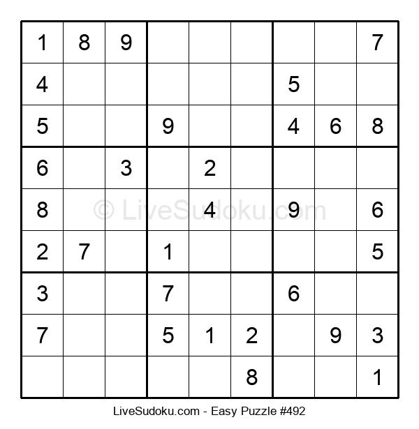 Beginners Puzzle #492