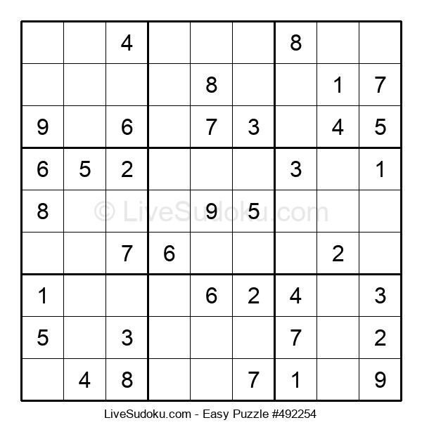 Beginners Puzzle #492254
