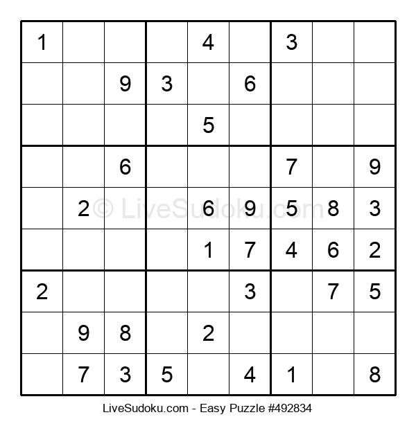 Beginners Puzzle #492834